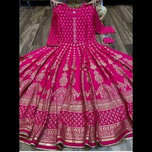 Indian dress anarkali kurti Bollywood wedding dres